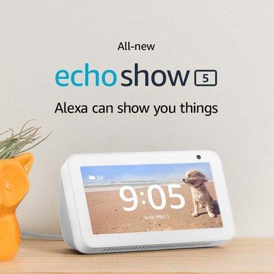 【竭力萊姆】現貨開發票 2019最新版 一年保固 Amazon Echo Show 5 聲控螢幕 智慧家電 語音助理