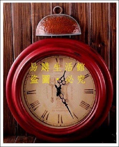 [王哥廠家直销]時鐘 掛鐘 新古典 靜音鐘 zakka 雜貨 仿舊 民宿 店面佈置 酒吧 咖啡廳 拍攝道具 室內設計LeG