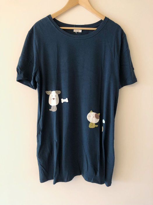 日本卡拉貓~gon醬狗狗兔子長版上衣 XL