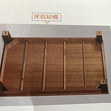【新精品】XN-2-8 客利斯5尺實木床底 (不含床頭跟其他商品)台北到高雄搭配車趟滿3000免運費含安裝定位