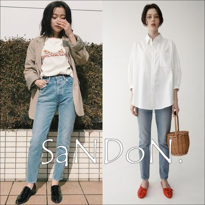 SaNDoN x『MOUSSY』四季都爆好搭配 MVS 好穿自留款復古牛皮標假裝無彈性的牛仔褲 SLY 180726