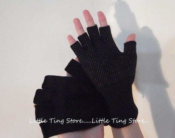 MIT 台灣製造不分大人小孩基本款男女手套百搭實用露趾手套露指手套半指止滑手套毛線手套露營釣魚拿東西超方便男女適用