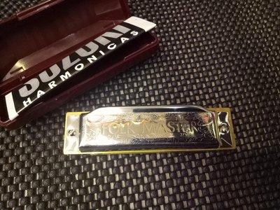 《白毛猴樂器》日本SUZUKI 1072 FLOCK MASTER C調 布魯斯口琴 藍調口琴 民謠口琴