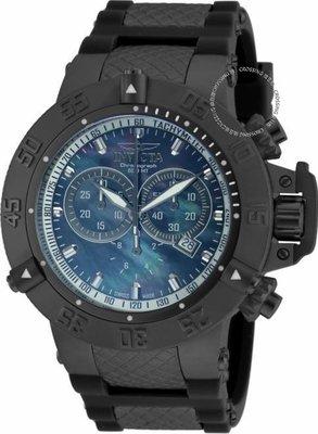 展示品 Invicta 90126 Subaqua Noma III Swiss Made Chronograph Date Black Mens W