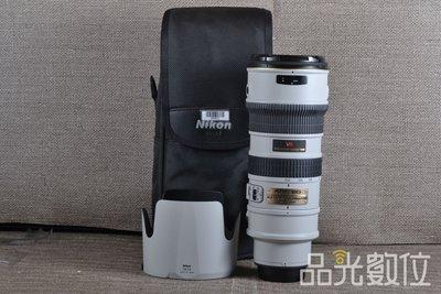 【品光數位】Nikon AF-S 70-200mm F2.8 G ED 紅VR  變焦 望遠 小灰五 #84802