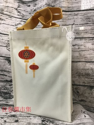 任你選市集  簡單素雅搭配傳統中國風燈籠 裝葡萄酒剛剛好 適合低調的你 送禮裝袋好大方