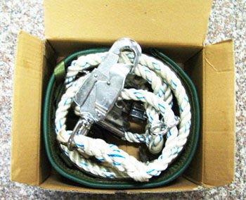 (JRS)台灣製造-柱上安全帶-日式桿上安全帶(雙扣環)-加寬型