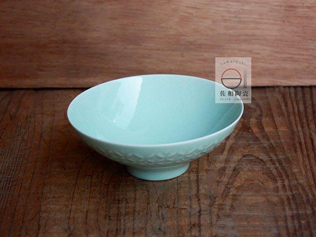 +佐和陶瓷餐具批發+【XL07115-9 綠星紋飯碗-日本製】日本製 缽碗 飯碗 分享缽 碗 食器