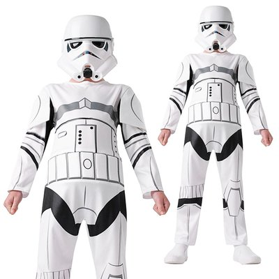 小童 白兵 Stormtrooper 星球大戰 Star Wars 主題派對 角色扮演 遊戲服飾 Halloween Costume Yr 3-7