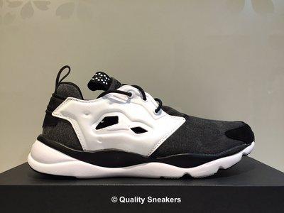 現貨 - Reebok Furylite Asymmetrical 陰陽 太極 黑灰白 慢跑鞋 女鞋 V68677