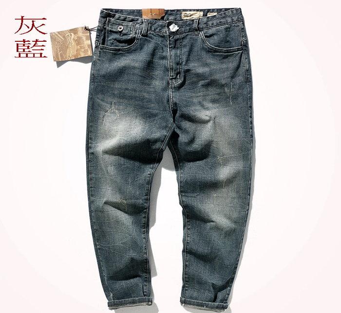 ☆MR.STORE.A☆日單復古重磅砂洗彈性低腰小直筒牛仔褲靴型褲(3色)~預購/現貨