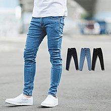 柒零年代【NB0248J】亮色車線素面彈性窄管牛仔褲(PA-PA99)