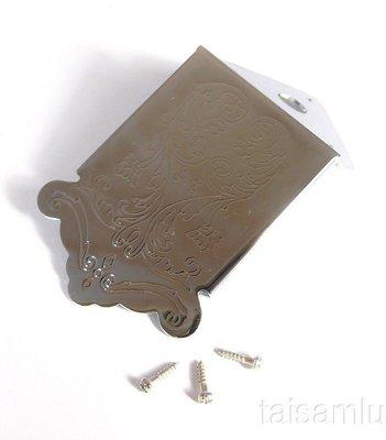 【山姆 樂器工作室】曼陀林 曼陀拉 拉弦板蓋 Tailpiece 銀色款