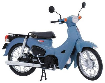 新豐強森 現貨 FUJIMI 1/12 Bike HONDA Super CUB 110 美麗藍 卡其色