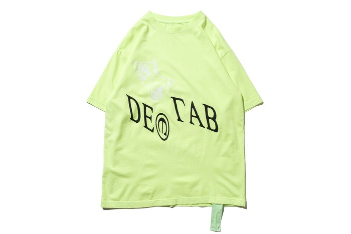 """[ LAB Taipei ] DeMarcoLab """"IN VISIBLE NOISE TEE"""" (Lime)"""