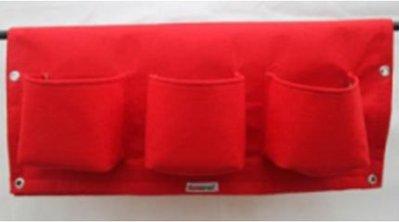 【懸掛式種植袋-6口袋-170克環保毛毰布-長62*寬58CM-200個/組】-517002