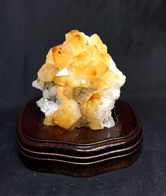 【收藏家】天然頂級黃晶片 黃水晶片 2...