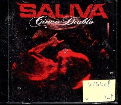 *真音樂* SALIVA 二手 K15408 (封面底破)