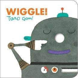 * 英文繪本/英文童書* WIGGLE BY Taro Gomi