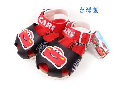Disney 迪士尼cars麥坤賽車氣墊護趾兒童涼鞋.童鞋(563818)紅色13~17號