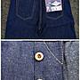 西方不敗美國製Left Field Deadstock 10oz Japanese Light Blue Greaser