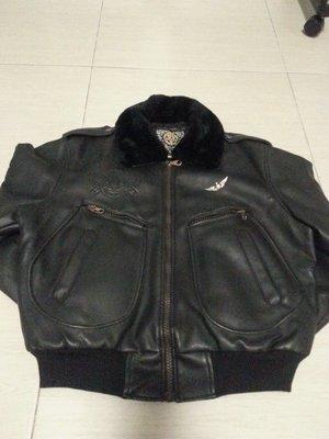 ~~~100元起標不流標~~~黑色合成皮革皮衣外套~~~原台南市市區可面交
