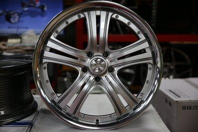 +OMG車坊+全新18吋鋁圈 RTS018 5X108 8J ET42 高亮銀車邊 中心65.1 特價品只有一組 新北市