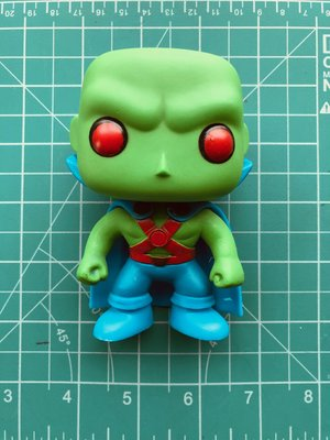 Funko Pop Martian Manhunter火星獵人 (已絕版)