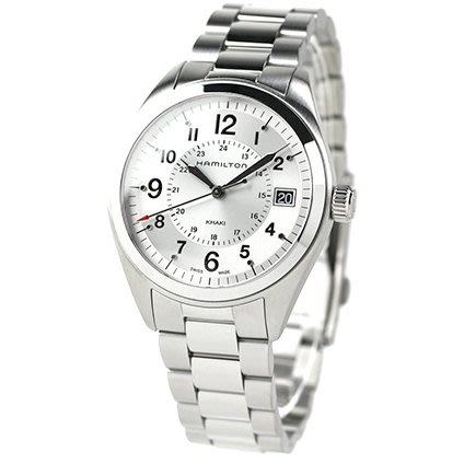 HAMILTON H68551153 漢米爾頓 手錶 40mm FIELD QUARTZ 鋼錶帶 男錶女錶