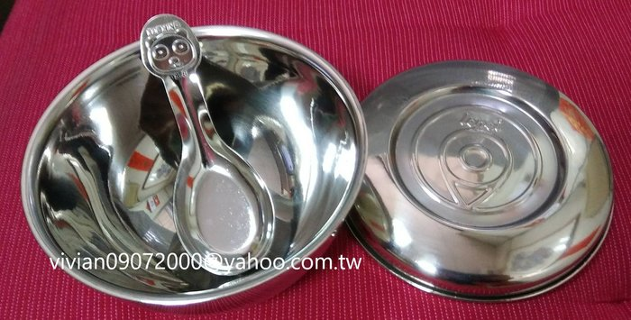 DODOBEAR幼兒碗單入組(1個正304雙層隔熱碗及1個上蓋/1支(正304)不鏽鋼湯匙)