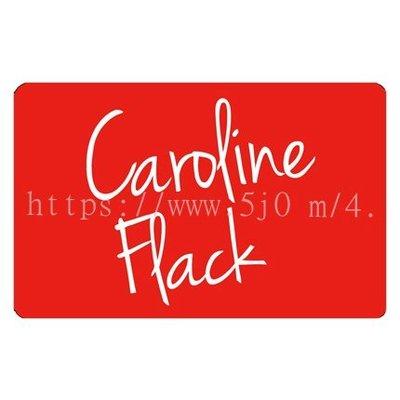 〈可來圖訂做-卡貼 應援貼紙〉Caroline Flack 卡蘿琳弗拉克 貼紙 悠遊卡貼紙