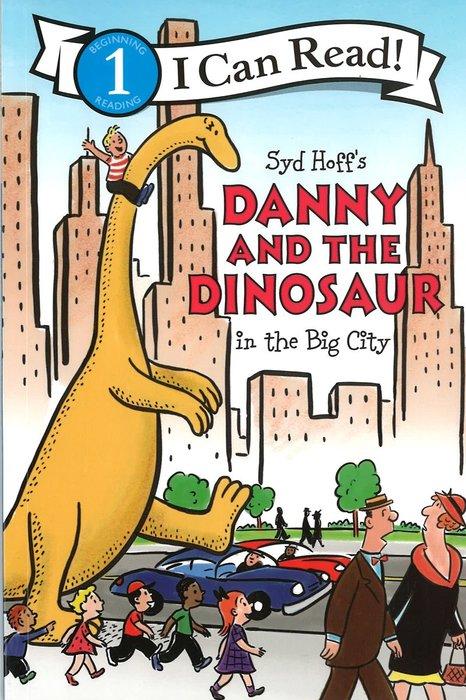 *小貝比的家*ICR:DANNY AND THE DINOSAUR IN THE BIG CITY/L1/平裝/3~6歲