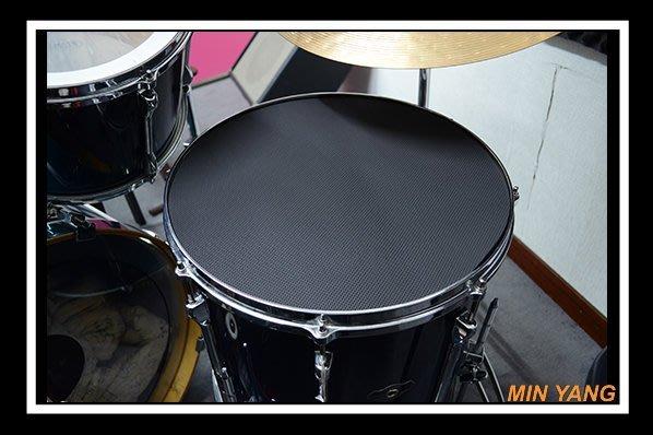 【民揚樂器】消音墊片 落地鼓用 16''吋 海綿材質 爵士鼓吸音 弱音