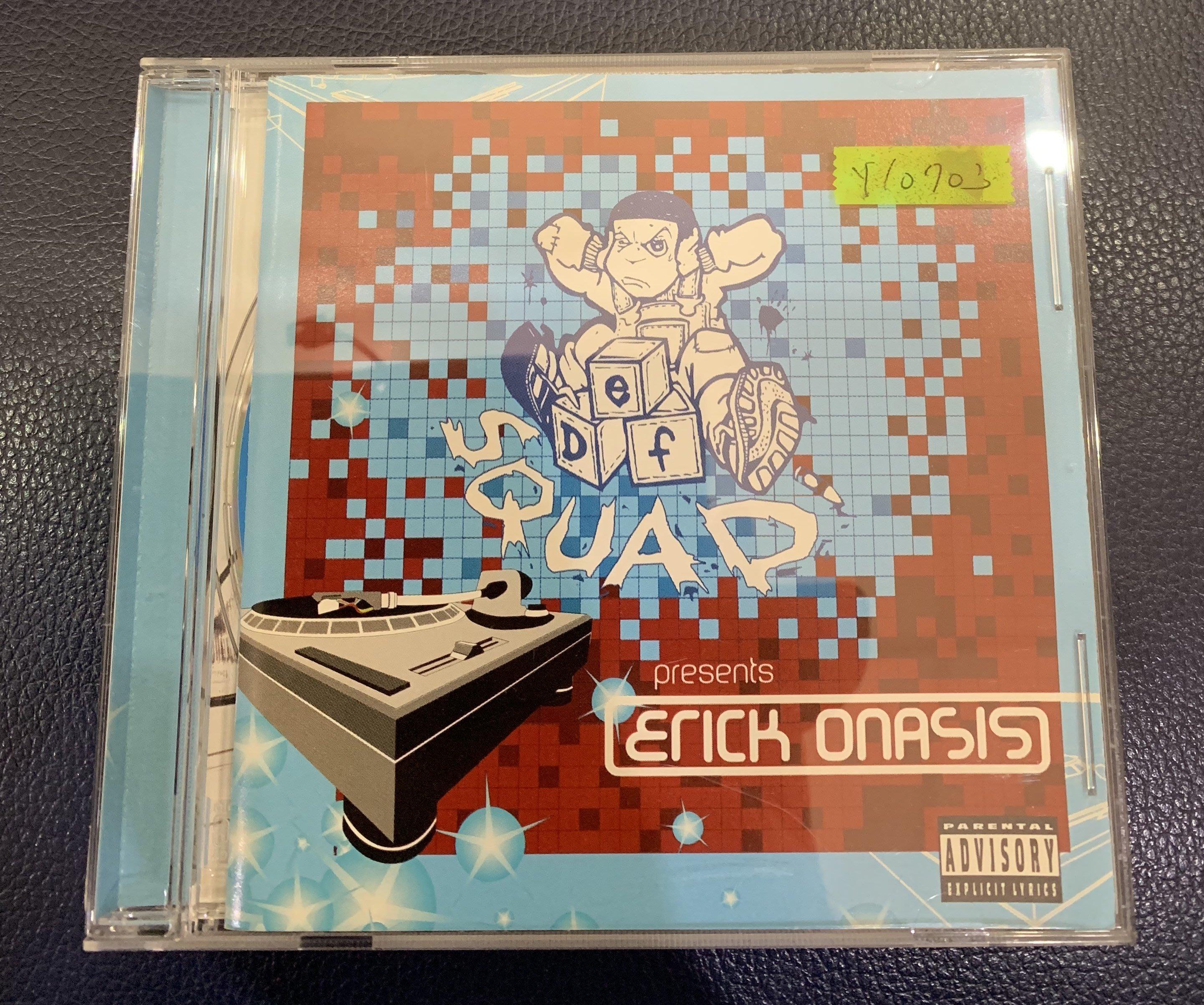 *還有唱片行*DEF SOUND PRESENTS ERICK ONASIS 二手 Y10703