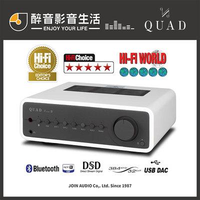 【醉音影音生活】英國 Quad Vena II/Vena 2 (木框特別版) 綜合擴大機.藍牙/USB DAC.公司貨