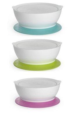 [小寶的媽] 美國製Cali bowl CaliBowl 專利防漏防滑幼兒學習碗吸盤款12oz 附蓋 台南市