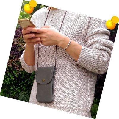 【GooMea】3免運 SUGAR F20 6.26吋 單層 掛頸 斜背 掛脖 手機袋 手機套 灰紅