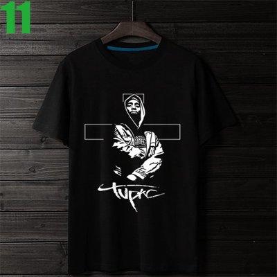 2Pac【吐派克】短袖嘻哈饒舌(HIP-HOP RAP)歌手T恤(共3種顏色 男版.女版皆有) 購買多件多優惠【賣場四】