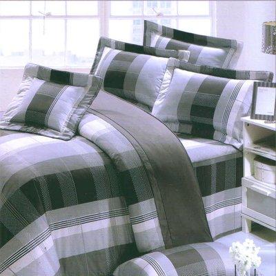 【Jenny Silk名床】都會戀人(灰).100%精梳棉.單人床罩組全套.全程臺灣製造