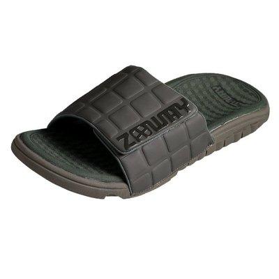 ZABWAY [穿斷換給你]  軍綠色 男鞋 魔鬼氈棒球拖鞋