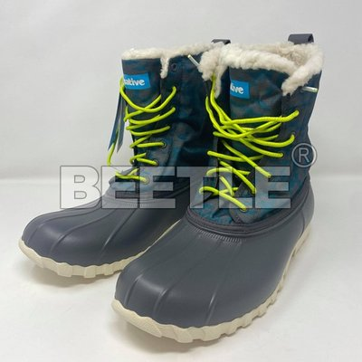 BEETLE NATIVE JIMMY FOX CAMO 鐵灰 湖水藍 迷彩 獵鴨靴 超輕量 M10=28CM