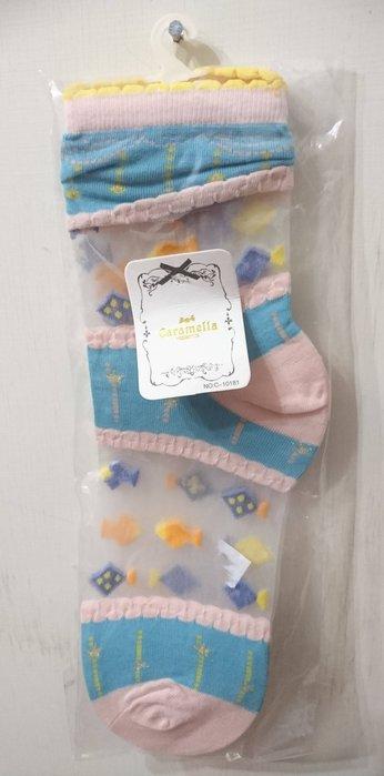 日本正品(現貨) - 網紗透明短襪 超好看喔