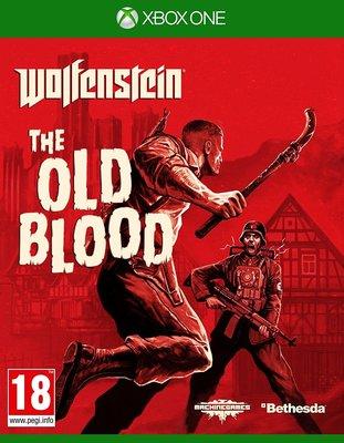 全新未拆 XBOX ONE 德軍總部:The Old Blood 舊血脈 -英文版- Wolfenstein