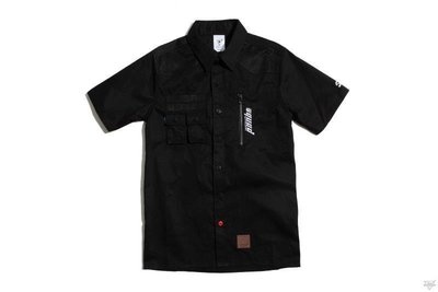 SQUAD S/S The Angling Society Shirt 垂釣立體剪裁短袖襯衫