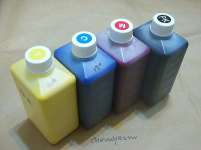 Epson 壓電式噴嘴大圖機高級相容水性顏料防水water base pigment墨水1公升