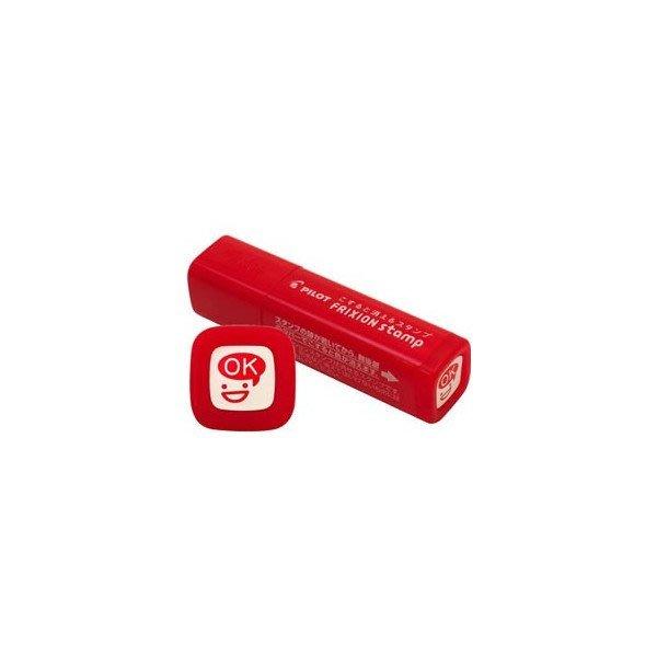 【小糖雜貨舖】日本 PILOT 百樂 可擦式 印章 - OK(鮮紅) SPF-12-10R