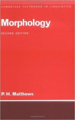 【特價/優惠/非二手/語言學/原文/研究所用書】Morphology Second Edition