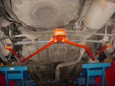 《大台北》億成汽車底盤精品改裝-SUMMIT-後下結構板 TIERRA (MAZDA 323 / PREMACY)