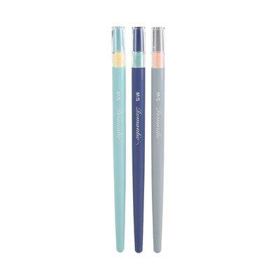 hello小店-文具學生塑料鋼筆小清新吸墨練字鋼筆 F尖0.5mm AFPM0602#鋼筆#學生必備#