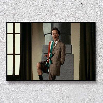 居家擺件 豆瓣高評分電影裝飾畫 復古文藝無框畫 酒吧咖啡館宿舍墻壁裝飾品解憂大鋪子